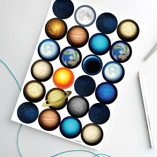 popupkemut-aurinkokunta-tarrat